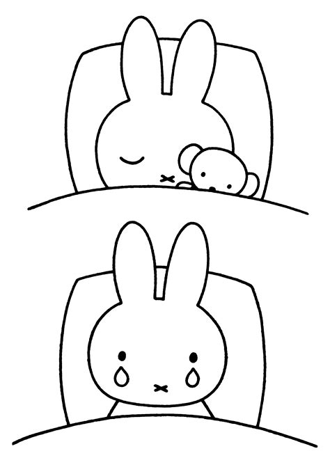 coloring templates miffy coloring pages coloringpages1001