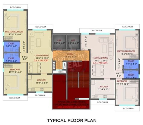 lumiere floor plan lumiere apartments dadar west mumbai project details
