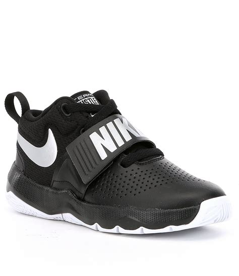 nike team shoes basketball nike boys team hustle d 8 basketball shoes dillards