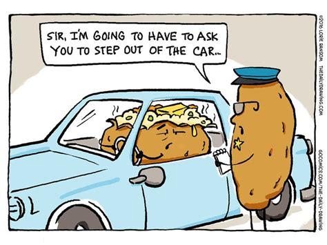 boat car joke the daily drawing comic strip august 15 2016 on gocomics