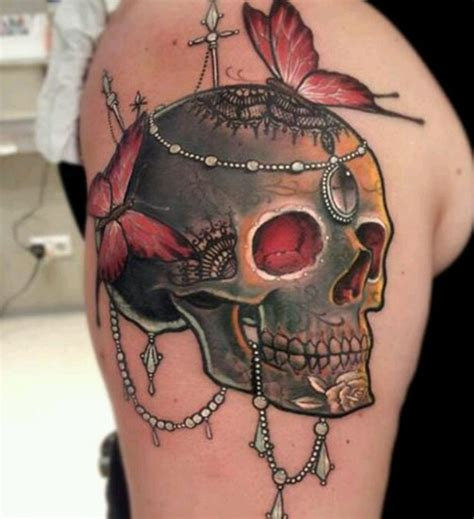 cool girly tattoos designs 50 cool skull tattoos designs pretty designs