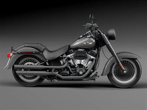Harley Davidson 87676 Black harley davidson fatboy s black matt 2016 3d model cgstudio