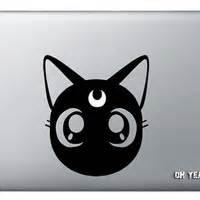 Tokomonster Decal Sticker Sailor Moon Cat 02 Macbook Pro And Air shop macbook cat decal on wanelo