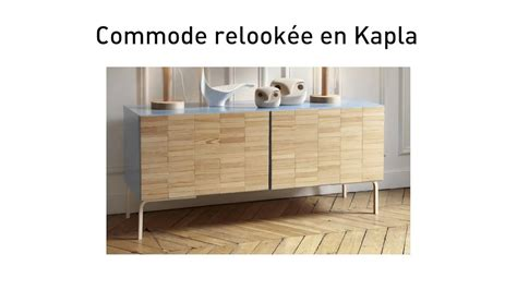 Kitchen Cabinets By Ikea diy une commode ikea relook 233 e en kapla youtube