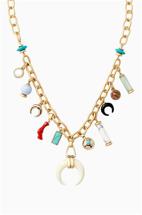 Stella Necklace leyla charm necklace stella dot