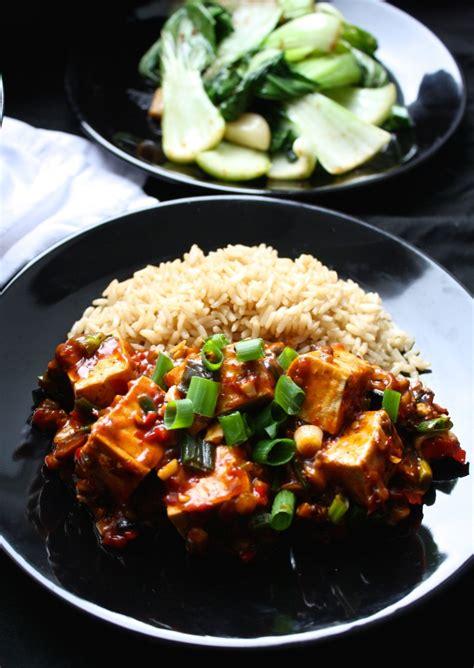 vegan tofu recipes mapo tofu peaceful dumpling