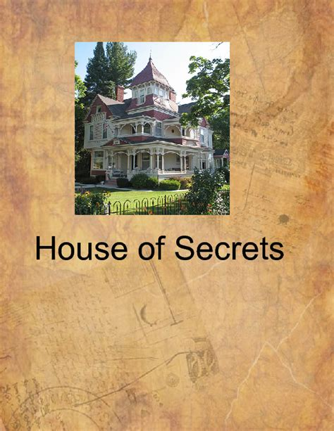 the house of secrets book the house of secrets book 180119 bookemon
