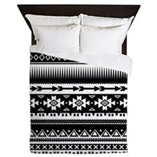Black And White Tribal Bedding by Tribal Aztec Geometric Duvet For