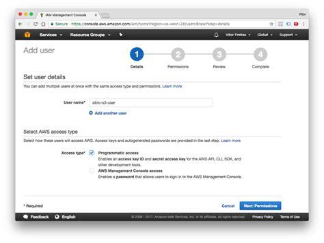 django tutorial permissions how to setup amazon s3 in a django project