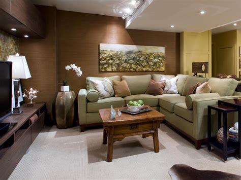 Family Room Makeover Ideas | decorating ideas for basement family rooms room