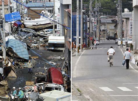 earthquake boston japan three months after the quake photos the big