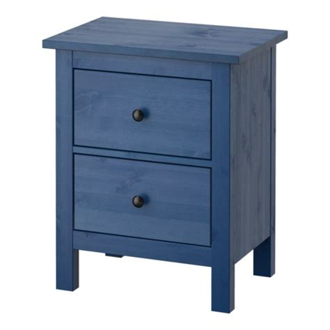 Hemnes Chest Of 2 Drawers hemnes chest of 2 drawers blue 54x66 cm ikea