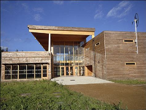 Dalby Forest Eco Friendly Visitor Centre Opens by Seven Stunning Green Buildings That Already Exist Ecofriend