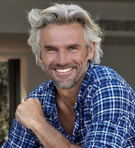 50 year old male grey curly hair cool and modern hairstyles for older men mens hairstyles