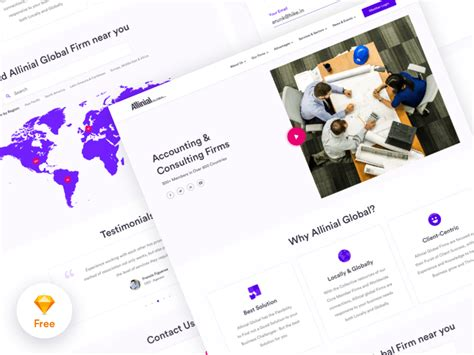 Accounting Consulting Firm Website Template Mockuplove Accounting Firm Website Template