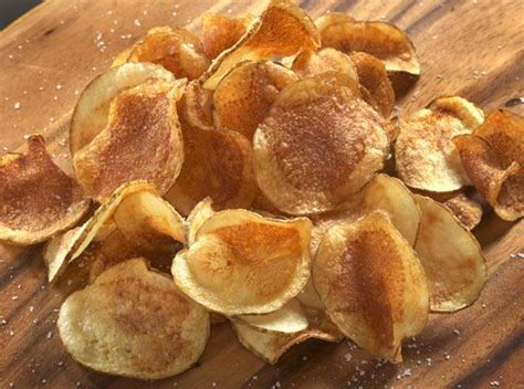 Handmade Crisps - potato chips food