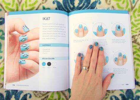 easy nail art book idiot s guides nail art book review adventures in acetone
