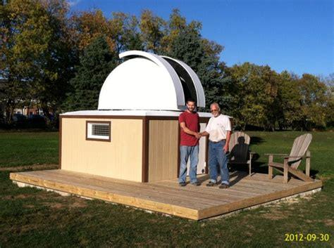 home observatory plans father son astronomy observatory homemade build