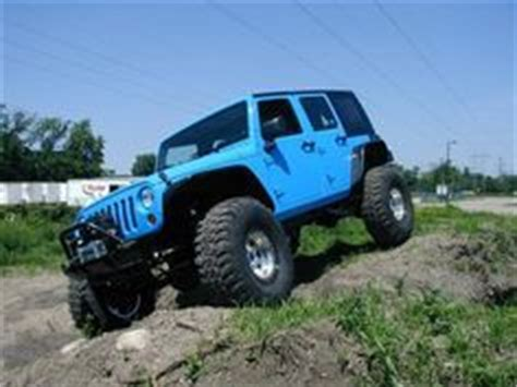 Light Blue 4 Door Jeep Wrangler Accessories Jeeps And Jeep Wranglers On