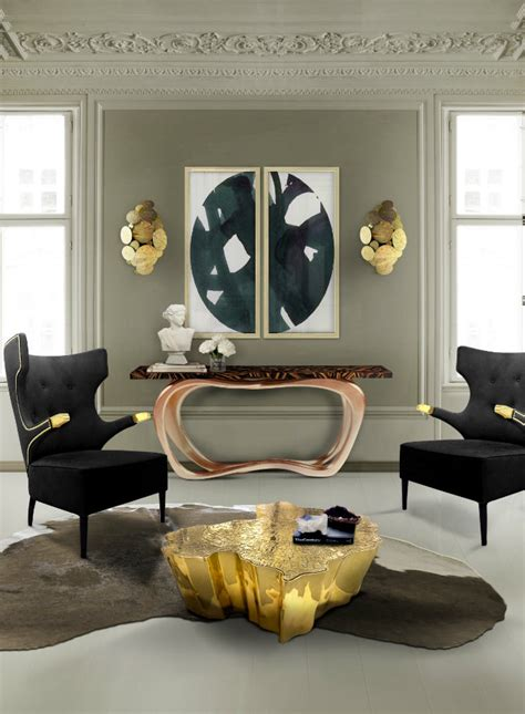 living room console tables modern console table design for a living room