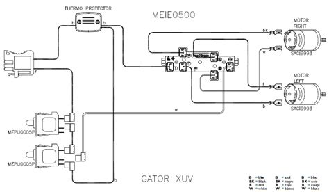 deere gator starter generator wiring wiring diagram
