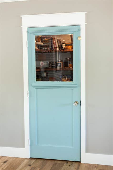 custom mint pantry door by rafterhouse myrafterhouse