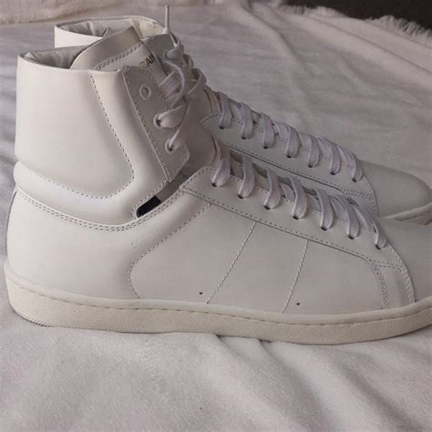 how do laurent sneakers fit laurent white womens sneakers size us 8 5 regular m