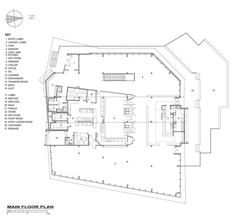 28 cafeteria floor plans floor plan for cafetarian gallery of knoll ridge cafe harris butt architecture 31
