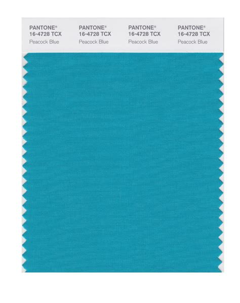 Peacock Blue buy pantone smart swatch 16 4728 peacock blue