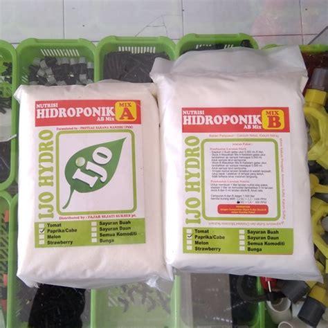 Pupuk Ab Mix Cabe jual nutrisi hidroponik ab mix ijo cabe paprika 1 7 kg