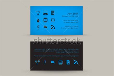 computer repair business card templates free premium