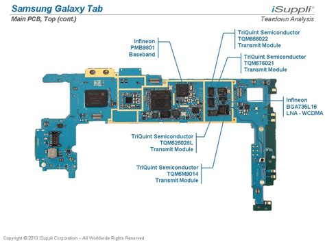 Ic Flash Samsung Tab 2 samsung galaxy tab carries 205 bill of materials isuppli