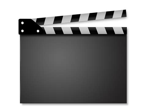 movie clapperboard series ppt backgrounds templates