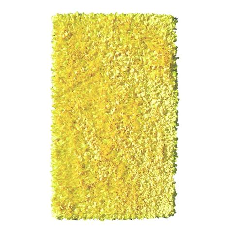 neon yellow rug filament design shaggy raggy yellow neon 4 ft 7 in x 7 ft 7 in indoor area rug 02290d the