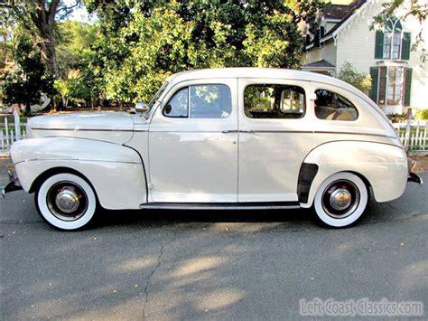 1941 ford deluxe 1941 ford deluxe sedan for sale restored california fordor