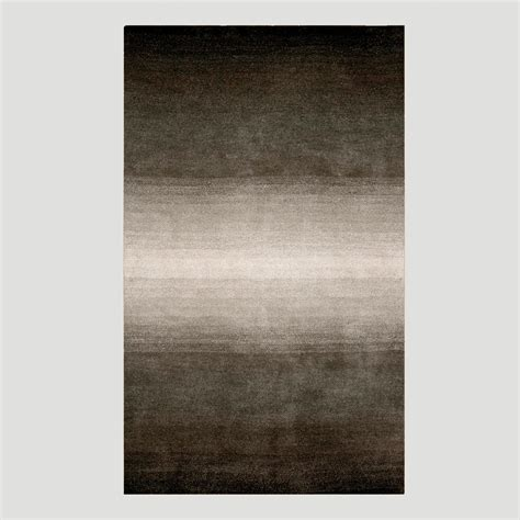 Ombre Rugs ombre stripes rug gray world market