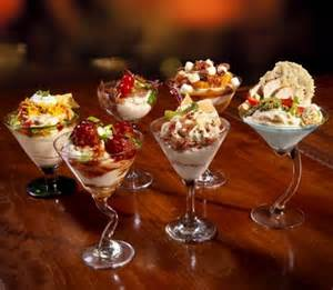 mashed potato martini bar toppings new buffet offering food cocktails made with layers of