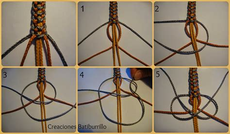 pulseras nudos creaciones batiburrillo pulsera nudos cruzados