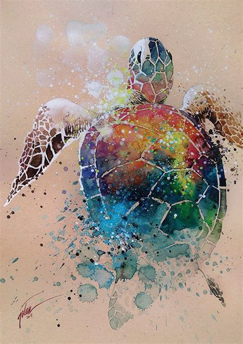 watercolor tattoo turtle 25 best ideas about sea turtle tattoos on