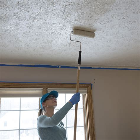 Popcorn Ceiling Paint Roller by Texture A Ceiling With Roller Ceiling Tiles