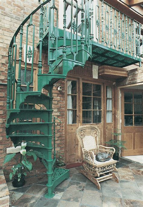 Small Victorian Homes Traditional Victorian Cast Spiral Staircases British
