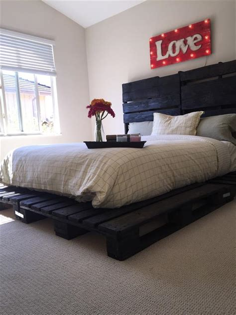 pallet platform bed pallet platform bed pallet furniture plans