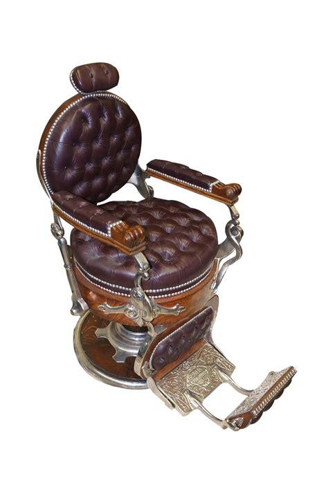 koken barber chair superlative turn of the century restored koken congress