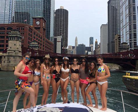 chicago bachelorette party ideas rent a boat in chicago - Chicago Boat Rental Bachelorette Party
