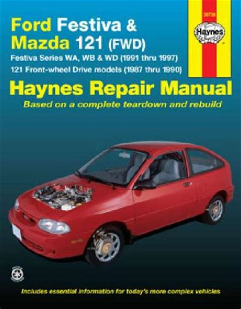 car manuals free online 1991 ford festiva spare parts catalogs mazda 121 ford festiva 1987 1997 haynes service repair manual sagin workshop car manuals