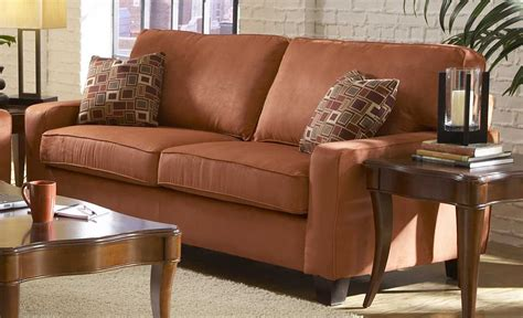 microfiber living room furniture sets newbury coral red microfiber living room set sofa sets