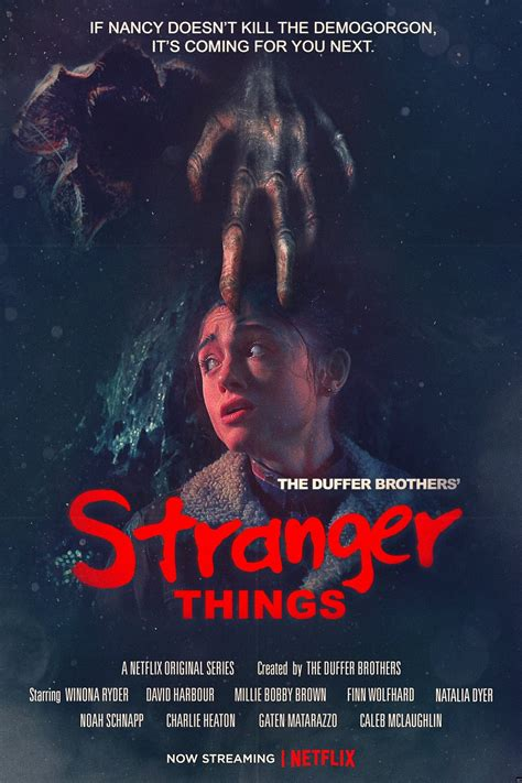 film streaming stranger things amazing new quot stranger things quot poster plays up elm street