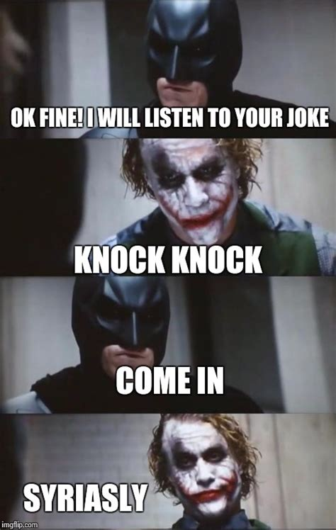 Batman Joker Meme - batman joker meme knock knock www pixshark com images
