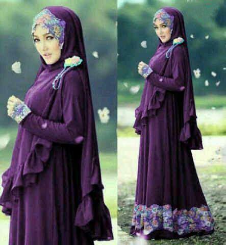 Maxi Purple Ungu Fit L safirah toko fashion store