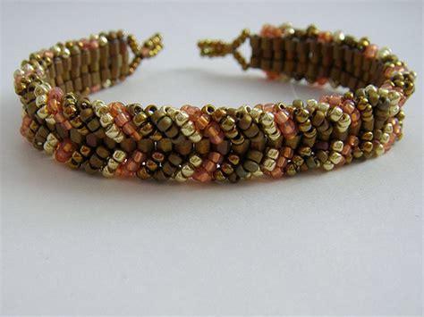 ladder stitch beading tutorial ladder stitch bracelet sweet and simple a